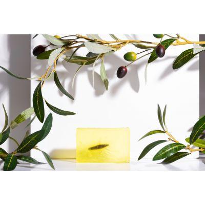 Săpun handmade cu ulei de măsline și extract din frunză de măslin 100g